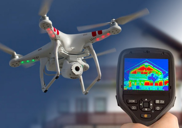 Roofing Southwest Uavs With Thermal Imaging
